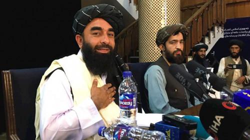 Talibanii din Afganistan, Zabihullah Mujahid