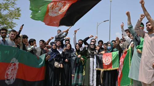 protest afganistan