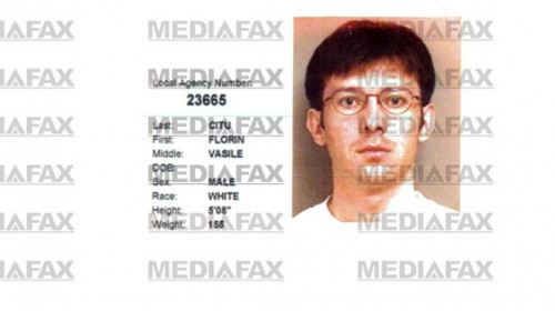 Mug Shot cu Florin Cîțu arestat în SUA