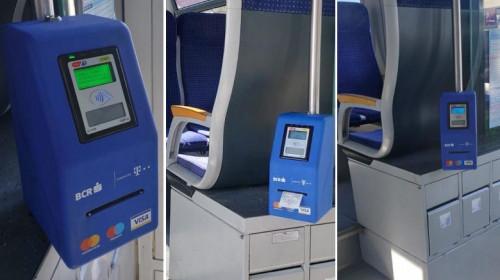Aparate de plătit călătorii contactless la trenurile CFR