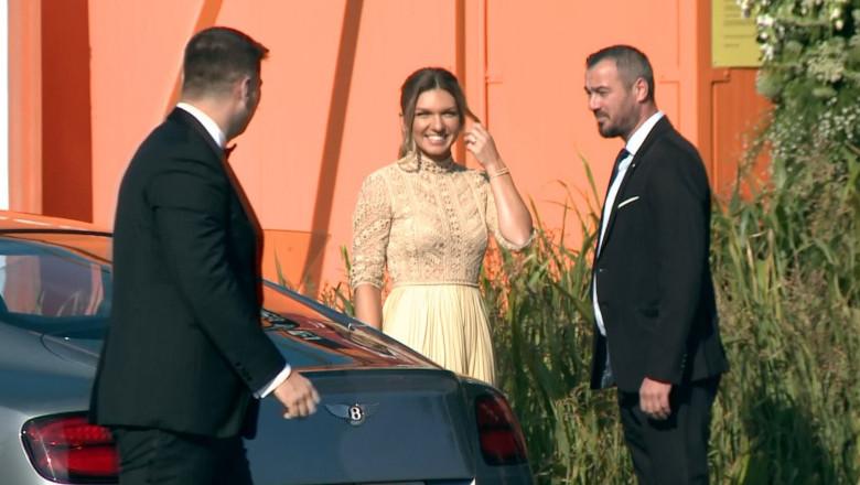 Simona Halep și Toni Iuruc la nuntă