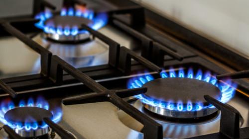 Plită de bucătărie pentru gătit cu gaze naturale la aragaz