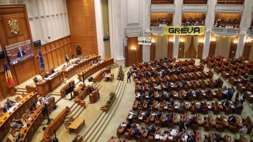 Grevă parlamentară de la AUR