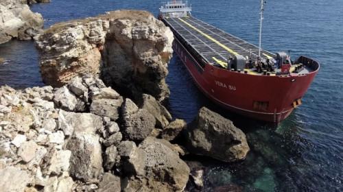 Nava cargo Vera Su eșuată în Marea Neagră