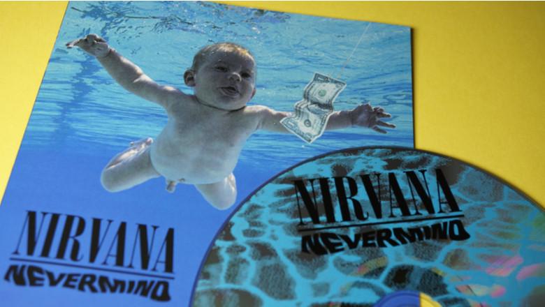 Coperta albumului Nevermind de la Nirvana