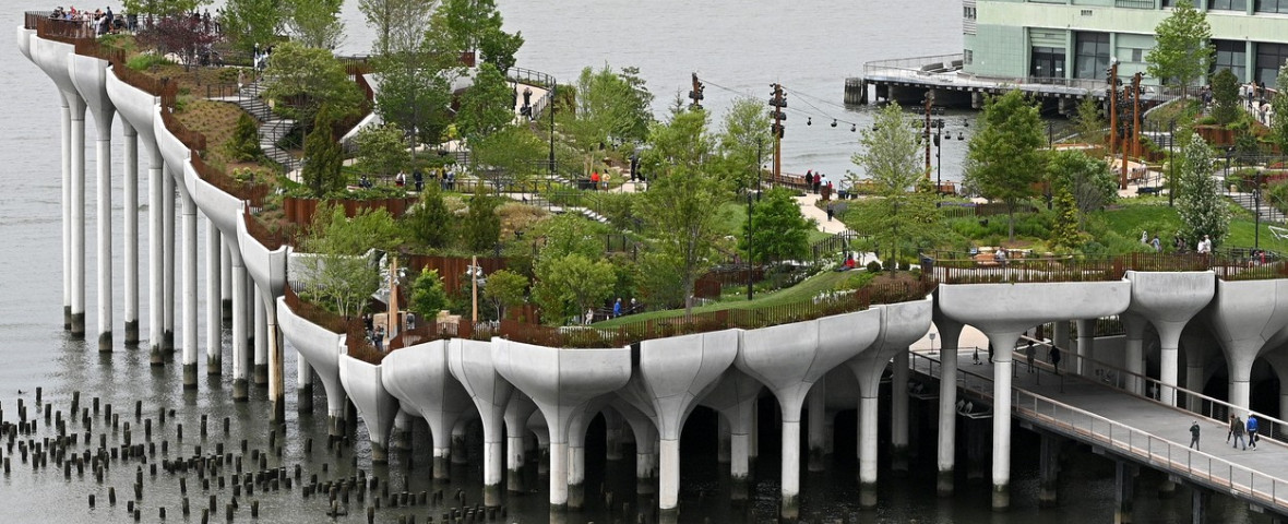 NY: Little Island Park Opens To Public