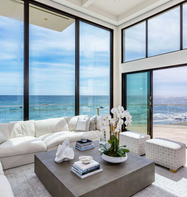 Pink has splashed out $13.7 million on an oceanfront villa in Malibu