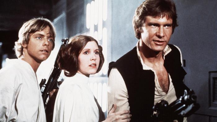 Original Star Wars Cast Reunite For Latest Film