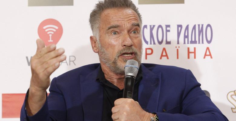 Arnold Schwarzenegger in Kiev