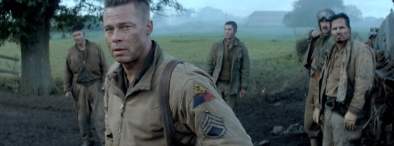 Pitt gets all tanked up for gritty war thriller