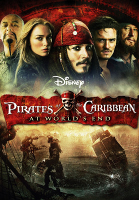 piratii din caraibe la capatul lumii poster