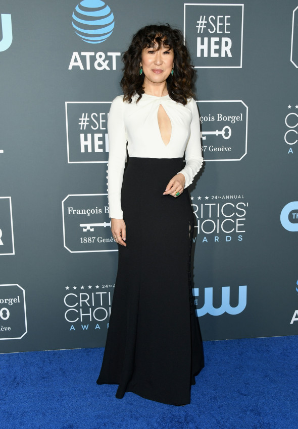 critics' choice awards sandra oh