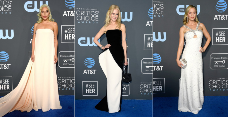 critics' choice awards covor rosu