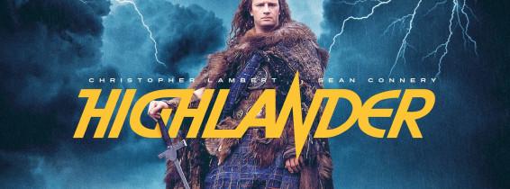 posterul filmului highlander din 1986