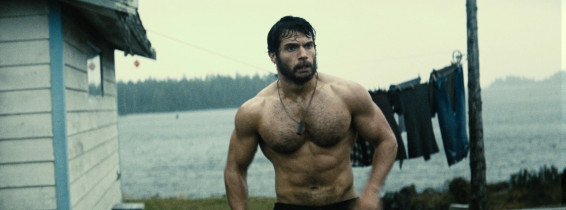 henry cavill captura din filmul man of steel, superman