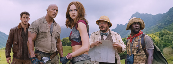 Jumanji: Welcome to the Jungle captura de film