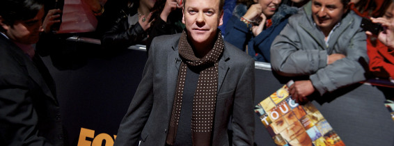 Kiefer Sutherland Presents Fox Tv Series 'Touch'