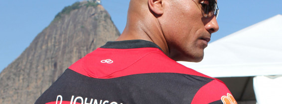 Vin Diesel and Dwayne Johnson Flamengo Fans!