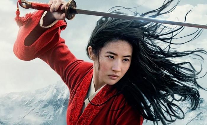 Disney a publié deux photos de l'actrice chinoise Liu Yifei qui joue le rôle de Mulan dans le nouveau film