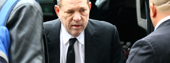 Harvey Weinstein at The Court in New York