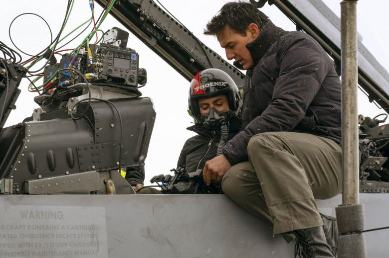 """""""Top Gun: Maverick"""" film stills"""