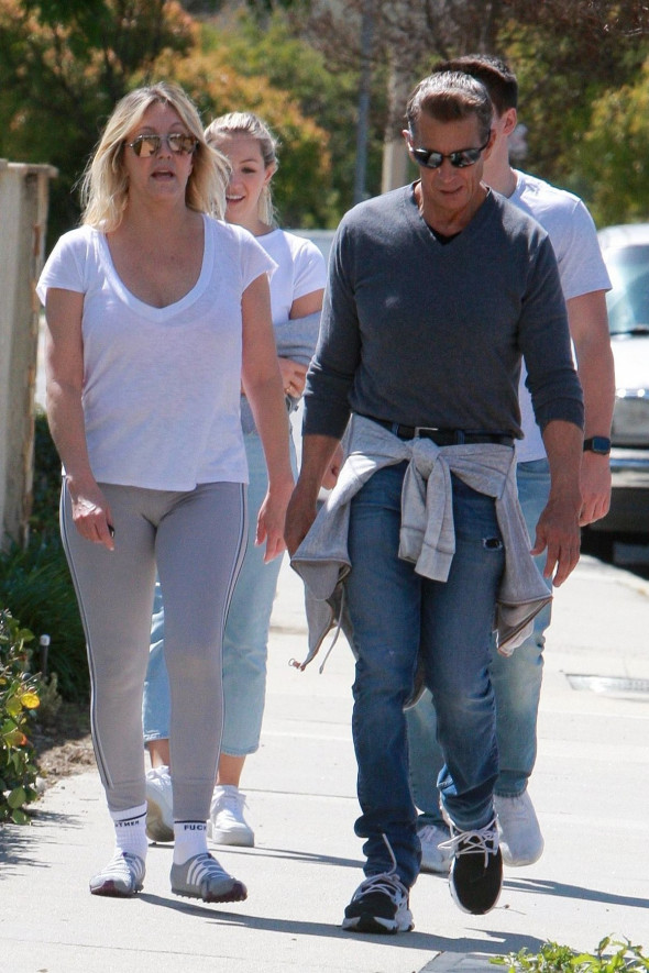 Heather Locklear out and about, Westlake Village, Los Angeles - 21 Mar 2020
