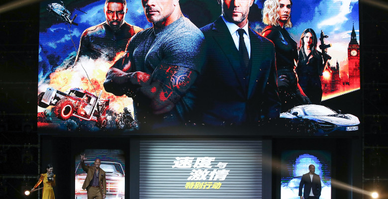 """""""Fast & Furious Presents: Hobbs and Shaw"""" - Fans Meeting & Press Conference"""