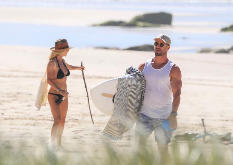 Chris Hemsworth și Elsa Pataky