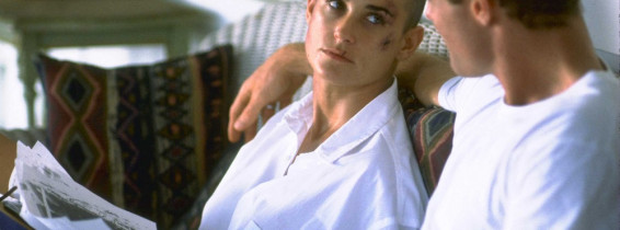 Lt Jordan O'Neil (Demi Moore Whose Resolve To Succeed As A Navy Seal Jeopardizes