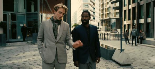 First look at Robert Pattinson and John David Washington in Christopher Nolan's highly anticipated movie Tenet