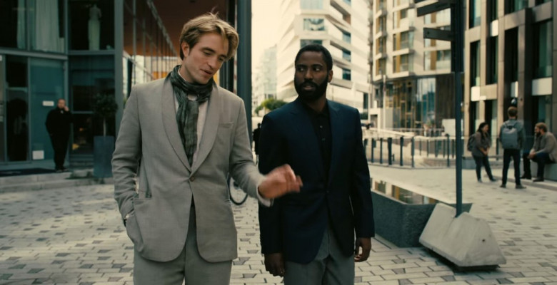 First look at Robert Pattinson and John David Washington in Christopher Nolan's highly anticipated movie Tenet