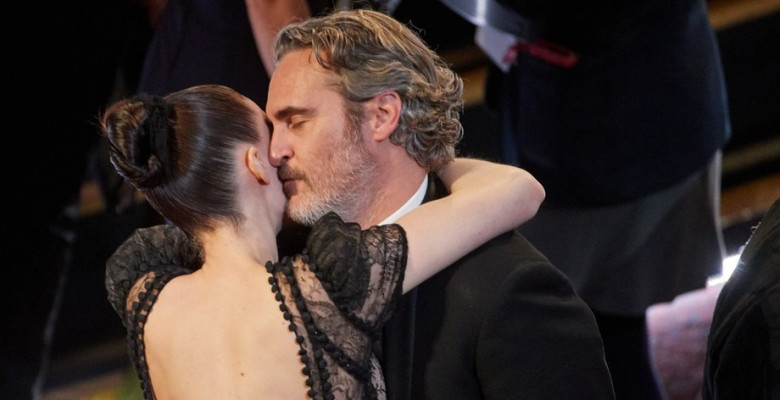 Joaquin Phoenix și Rooney Mara. Foto: Profimedia
