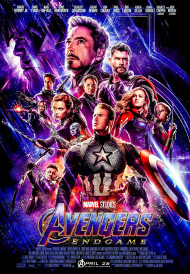 Avengers: Endgame (2019) directed  by Anthony and Joe Russo, starring Bradley Cooper, Brie Larson and Chris Hemsworth. Epic conclusion and 22nd film in the Marvel Cinematic Universe.