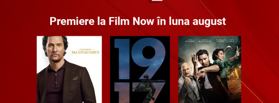 Premiere la Film Now in luna august