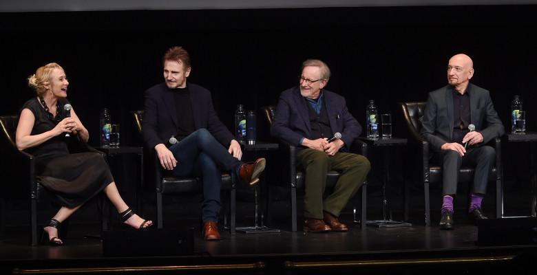 "Caroline Goodall, Liam Neeson, Steven Spielberg, Ben Kingsley - ""Schindler's List"". Foto: Getty Images"