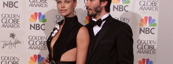 Charlize Theron și Keanu Reeves. Foto: Getty Images