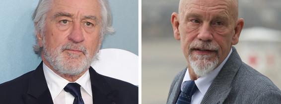 Robert De Niro și John Malkovich. Getty Images