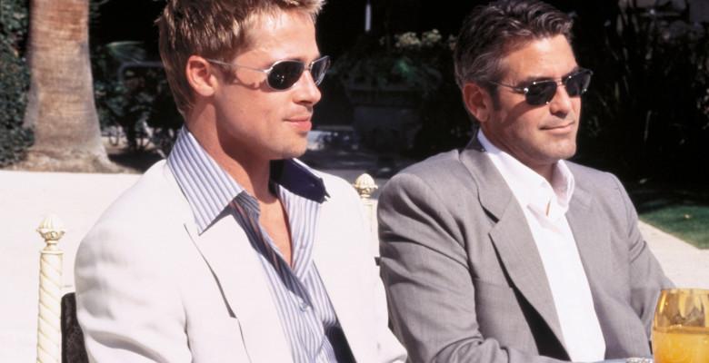 George Clooney, Brad Pitt . Foto: Profimedia