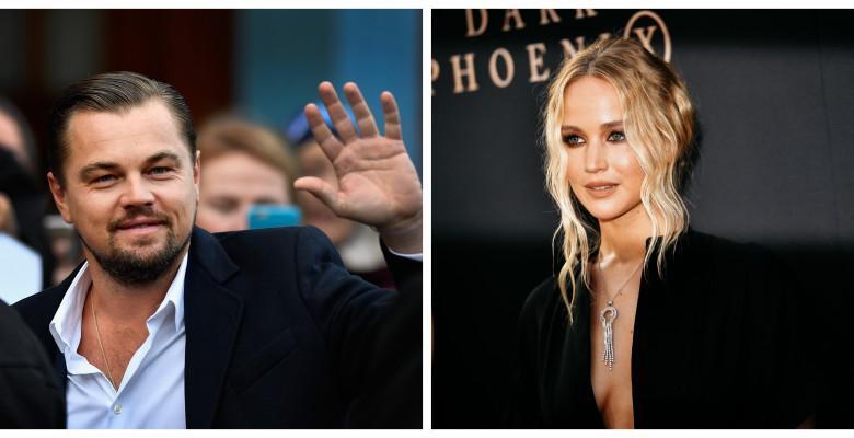 Leonardo DiCaprio, Jennifer Lawrence