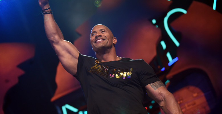 """Dwayne """"The Rock"""" Johnson. Getty Images"""