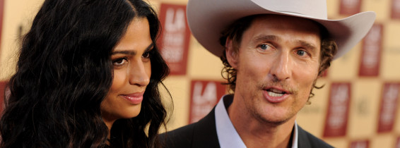 Matthew McConaughey, Camila Alves. Foto: Getty Images