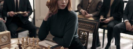 "Stills from the TV series ""The Queen's Gambit"""