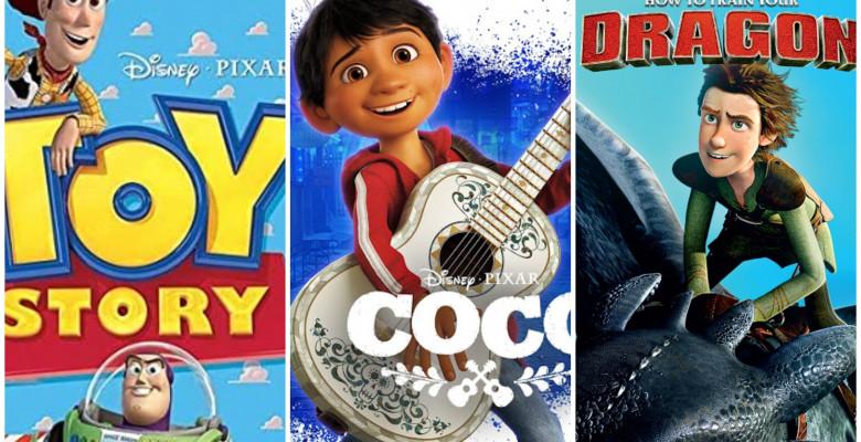 cele mai frumoase filme de animatie