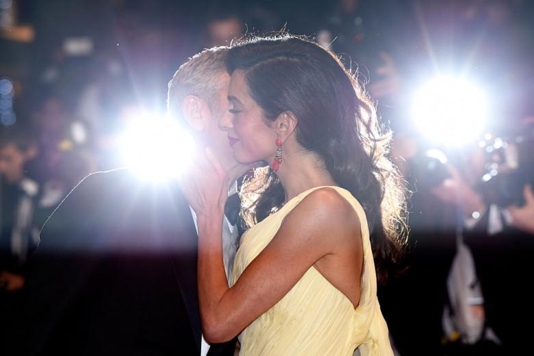 George și Amal Clooney. Foto: Getty Images