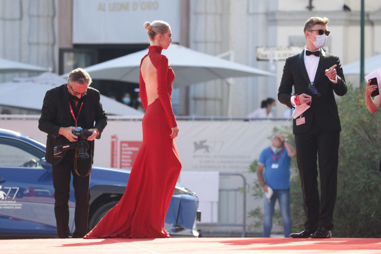 """""""Pieces of a woman"""" Red Carpet - The 77th Venice Film Festival"""