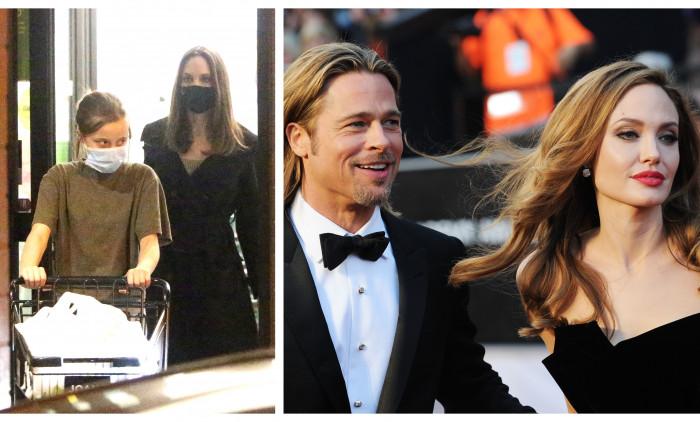Angelina Jolie, Vivienne Jolie Pitt, Brad Pitt