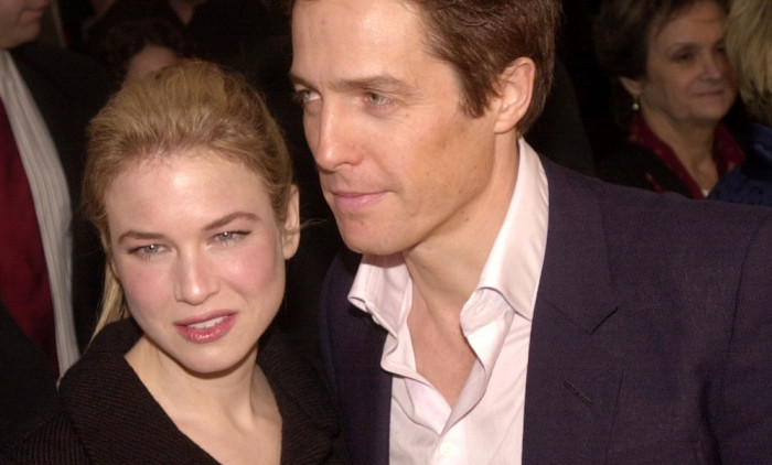 "Renee Zellweger și Hugh Grant, la premiera ""Bridget Jones's Diary"". Foto: Getty Images"