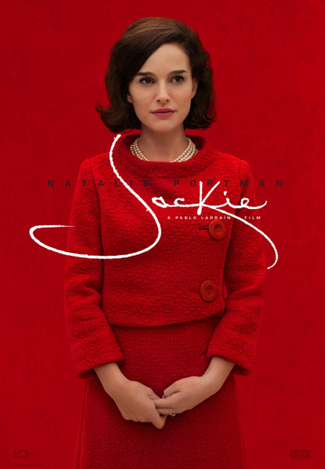 JACKIE, US advance poster, Natalie Portman, 2016. Fox Searchlight / courtesy Everett Collection