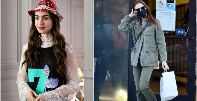 EMILY IN PARIS LILY COLLINS TINUTE