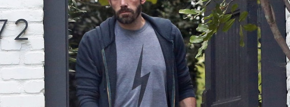Ben Affleck seen for the first time since it was reported that he has broken up with Ana de Armas,